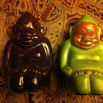 Billiken Miniature FrankX2 Frankoma - Art Pottery