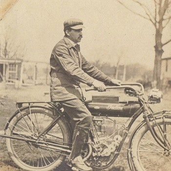 GRANDPA'S INDIAN - Motorcycles