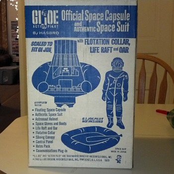 GI JOE SPACE CAPSULE 1966 #5979