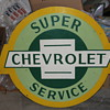 Super Chevrolet Service Sign