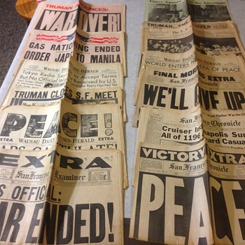 WWII War is over!!! - Paper