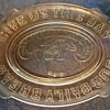 EAPG 1876 US Constitution bread plate