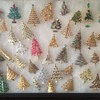 Christmas Tree brooches
