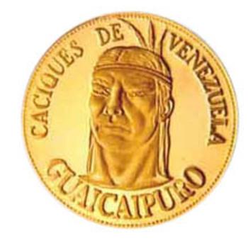 Venezuela coin ring