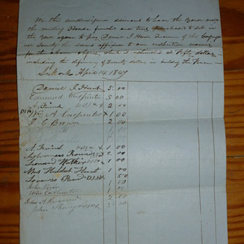 1847 Document