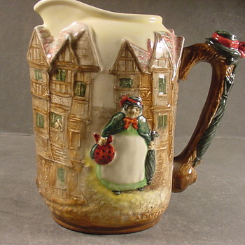 Wonderful and rare Dickens relief ware - China and Dinnerware