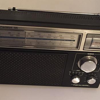 Portavision-55 Realistic radio.