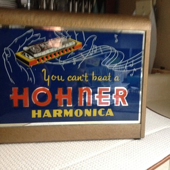 Hohner .... for the harmonica player - Advertising