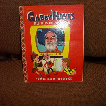 1954 GABBY HAYES  CHILDRENS BOOK - Books