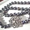 South Sea grey pearl necklace
