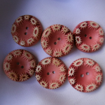 Vintage buttons. - Sewing