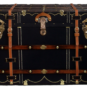 Early 1900's Travel Trunk - Furniture