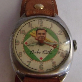 For the Baseball Fans.... 1949 Babe Ruth Wrist Watch - Baseball