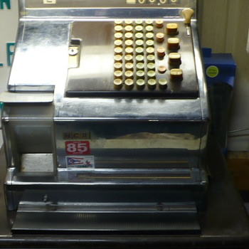 ncr cash register - Coin Operated