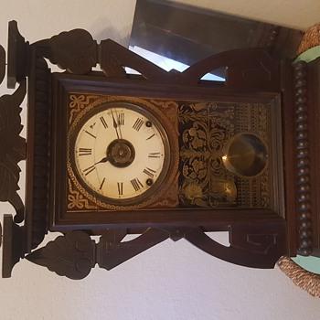 Seth Thomas kitchen clock w/ alarm working