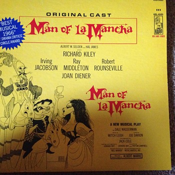 Man of LaMancha - Records