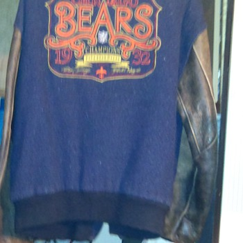 1932 Chicago Bears Jacket