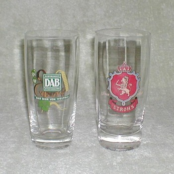 Rastal German Beer Glasses - Breweriana