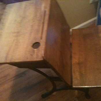 1916 Antique School Desk