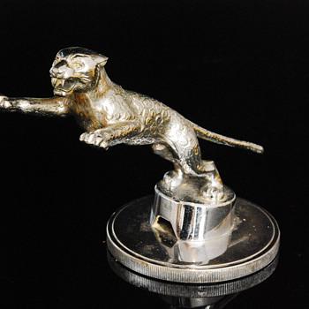 Rare Desmo Jaguar SS Car Mascot