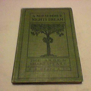 A MIDSUMMERS NIGHT DREAM 1910 - Books