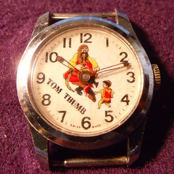 Circa 1964 Tom Thumb Wrist Watch - Wristwatches