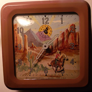Animated Roy Rogers Alarm Clock