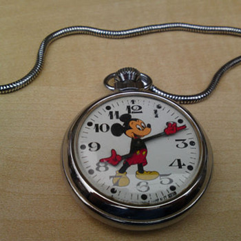 Smiths Empire Mickey Mouse Pocket Watch - Pocket Watches