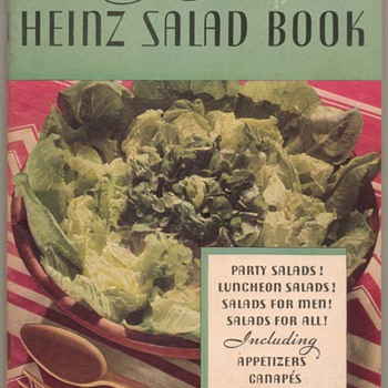 1933 - The Heinz Salad Book - Books
