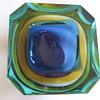 MURANO Mandruzatto Glass Works -Somerso (Geode) BOWL