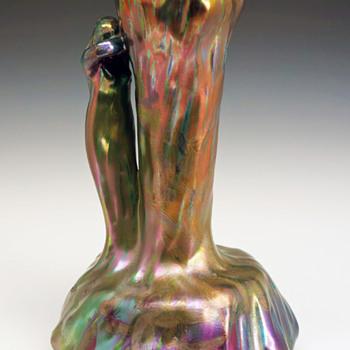 Delphin Massier Symbolist Vase