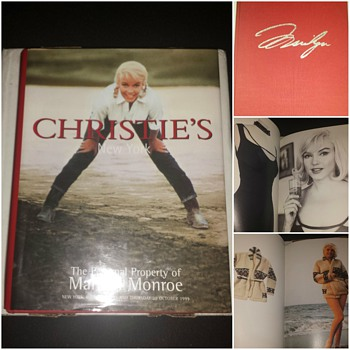 The Personal Property of Marilyn Monroe - Books