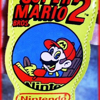 1989 SUPER MARIO 2 ( Nintendo ) -- CHILD'S SUSPENDERS    ***(( Repost ))