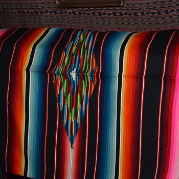 Another Vintage Serape Saltillo - Rugs and Textiles
