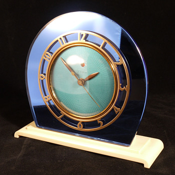 "Telechron ""Casino"", Model 4F71  Electric Shelf Clock - Art Deco"