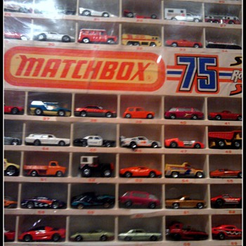 The Superfast era...Sometimes worth more than earlier Matchbox cars!