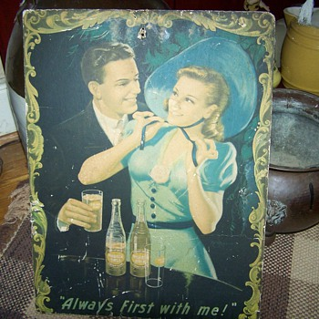 Vintage Double Cola Sign - Signs