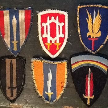 US patches - Military and Wartime