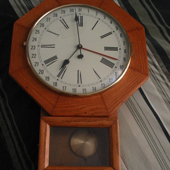 1971 Wall Clock with West Germany face on front
