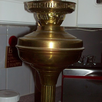 Oil Lamp, double flat wick