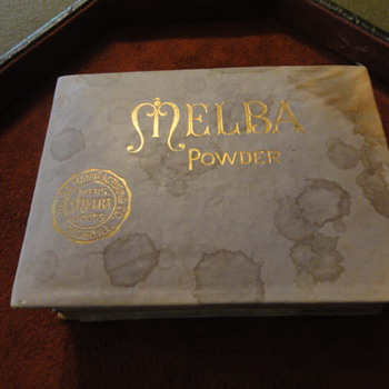 1914 Melba Powder Box - Accessories