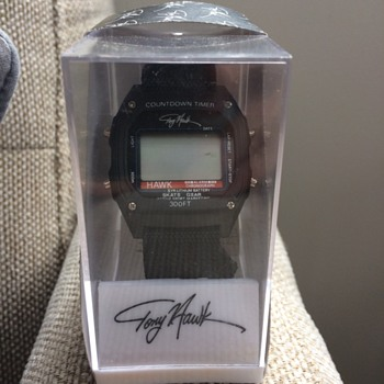 Vintage Tony Hawk Watch