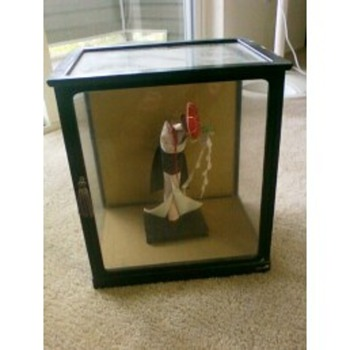 1920's (?) era handmade origami geisha doll - Dolls