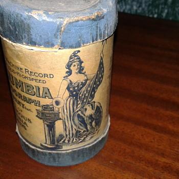 2min Columbia cylinder.