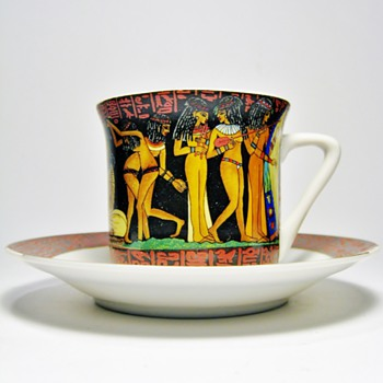 Egyptian Cup and Saucer set - China and Dinnerware