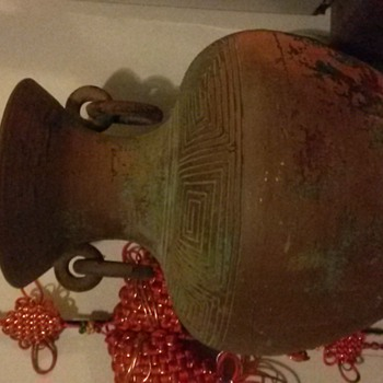 beautiful 2 handle find. - Art Pottery