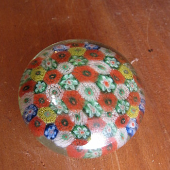 Unknown Paperweight Glass Bohemian ?  - Art Glass