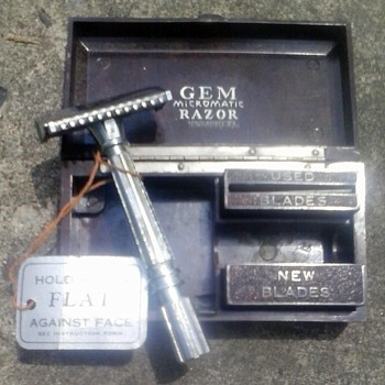 Gem Micromatic Razor Kit - Accessories