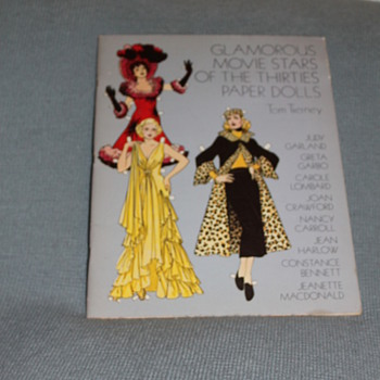 glamorous movie stars of the thirties paper dolls - Dolls