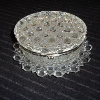 Baccarat ?  Glass or Crystal Box?